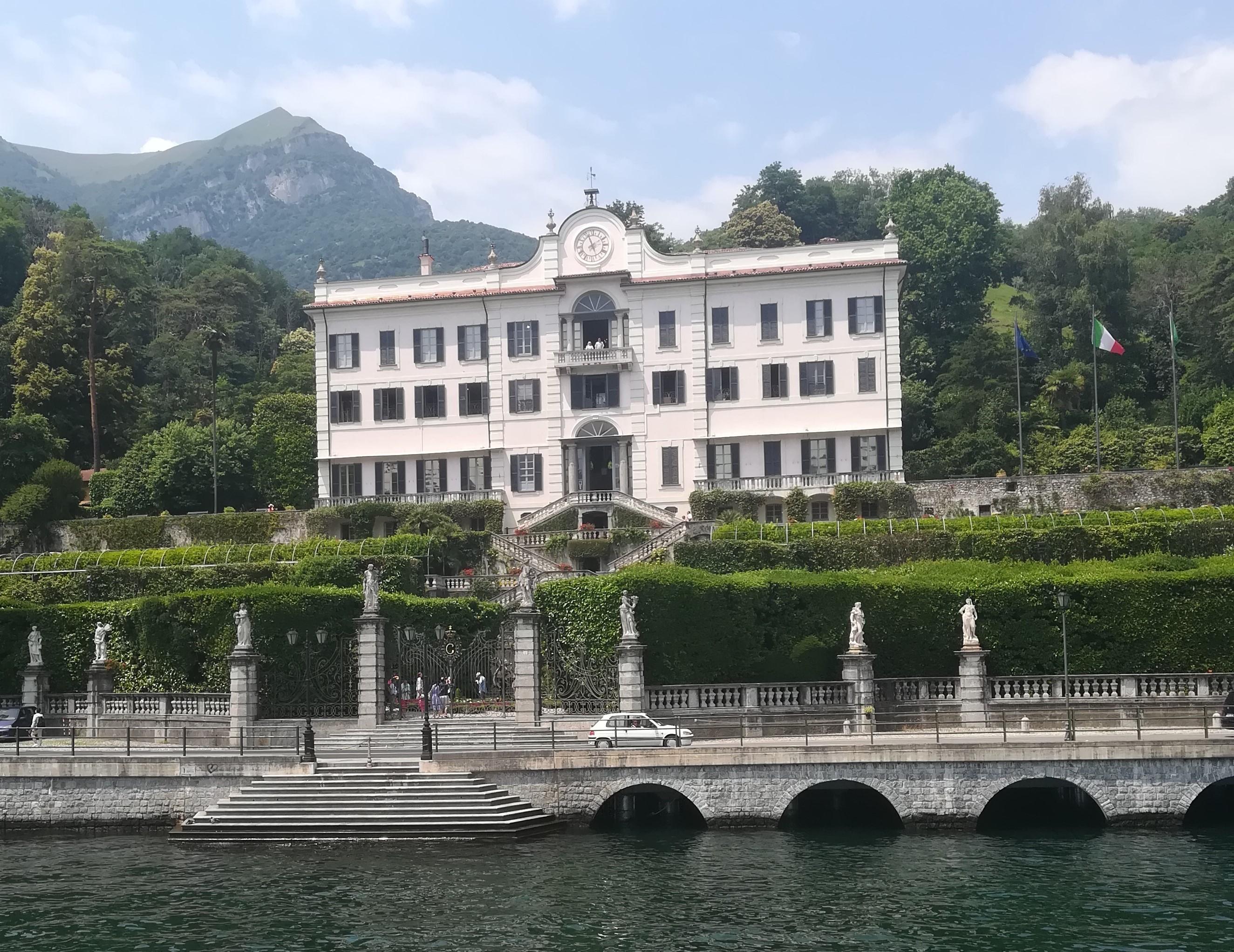Озеро Комо: villa Carlotta