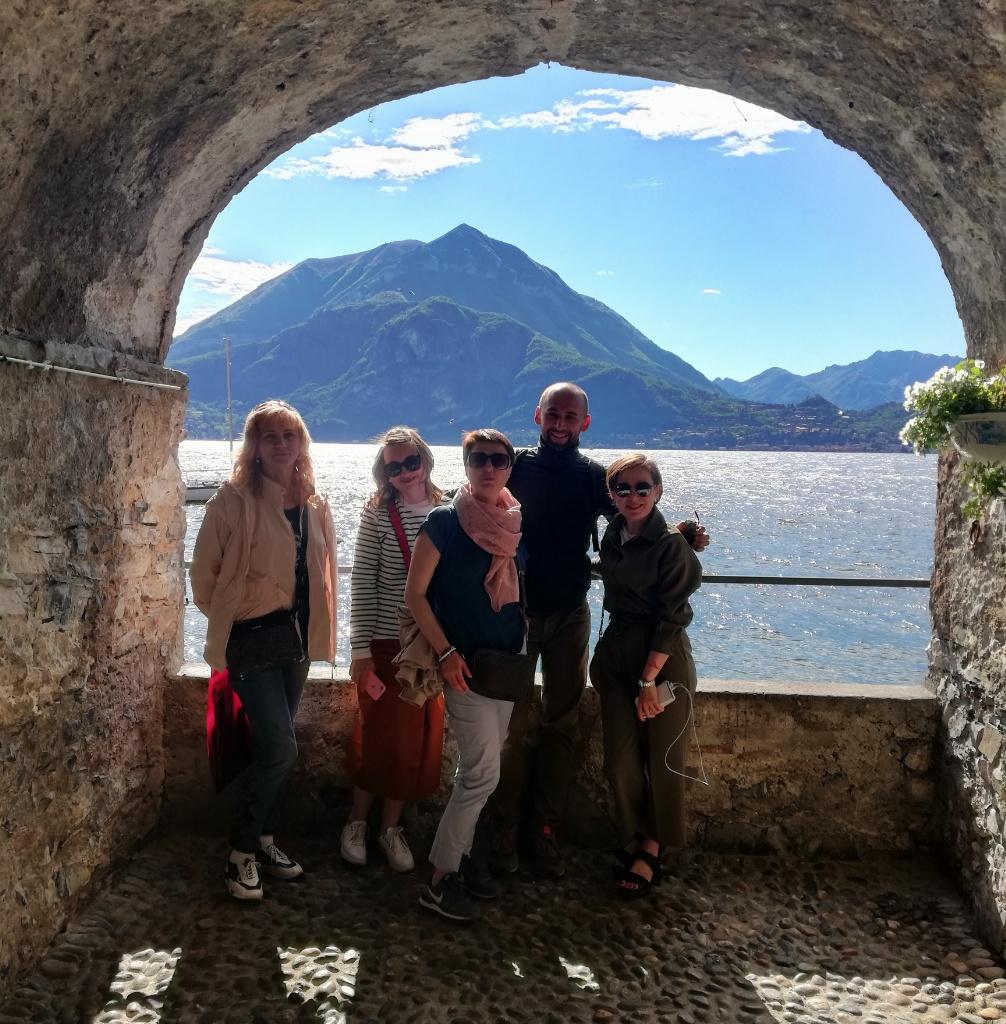на озеро Комо из Милана